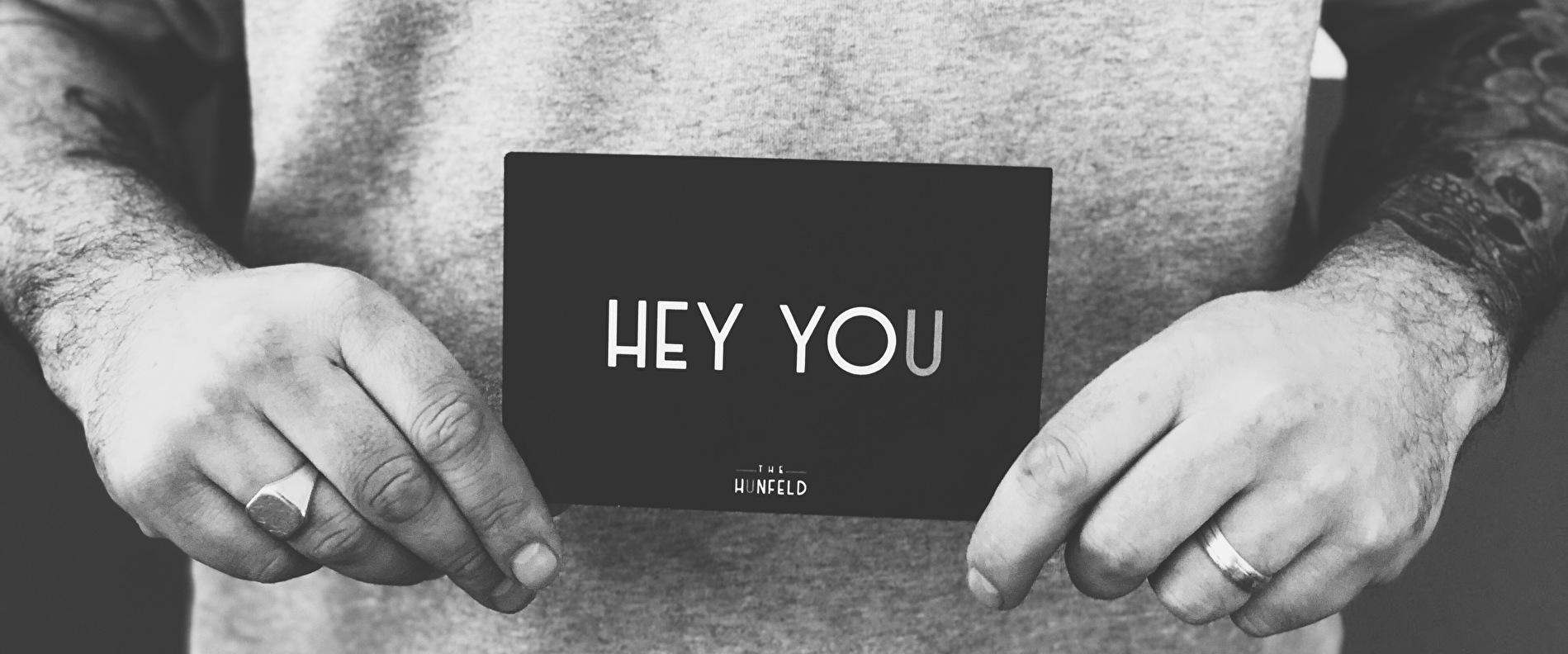 HEY YOU - THE HUNFELD